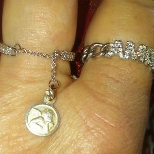 925 Sterling silver Angel Ring